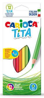 Купить <b>Карандаши цветные Carioca TITA</b> 42793 шестигран ...