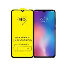 <b>9D Tempered Glass For</b> Xiaomi Pocophone F1 Mi 9 Mi9 SE Mi9T ...