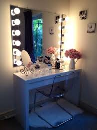 simple dressing table mirror with lights charming makeup table mirror lights