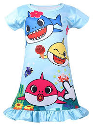 Coralup Baby Toddler Girls Shark Nightgown ... - Amazon.com