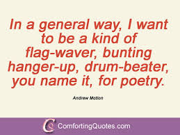 11 Famous Quotes And Sayings From Andrew Motion | ComfortingQuotes.com via Relatably.com