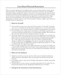 Law School Essay Examples  sample law school personal statement     Manhattan Prep