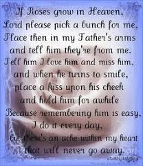 Tears From Heaven Quotes | ... - Miss you father quotes | My ... via Relatably.com
