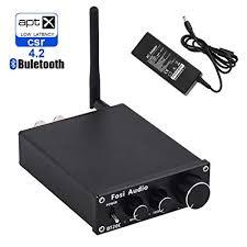 Fosi Audio <b>Bluetooth</b> 4.2 <b>Stereo</b> Amplifier <b>2 Channel</b>: Amazon.co.uk ...