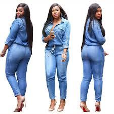 Гофрированный джинсовый <b>комбинезон</b> широкие <b>брюки</b> ...