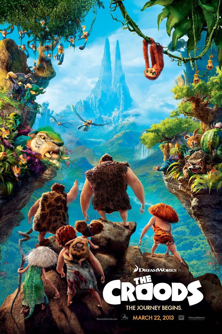 Download The Croods (2013) Dual Audio {Hindi-English} 480p | 720p