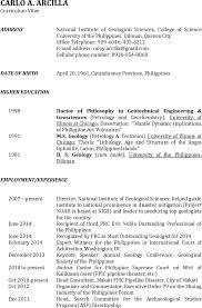 resume geologist resume geologist resume template
