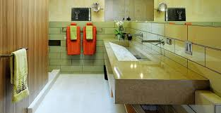 valley concrete bathroom ketchum ftc:  custom concrete integral sink in sun valley id by fu tung cheng concrete