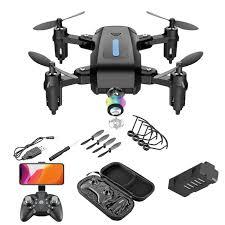 M9 PRO Mini Folding Drone <b>Remote</b> Control Quadcopter HD Real ...