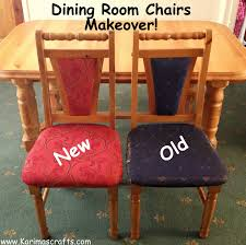 Padding For Dining Room Chairs Reupholstering A Dining Chair Interesting Dining Room Chair