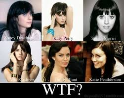 Zooey Deschanel and Katy Perry - PandaWhale via Relatably.com