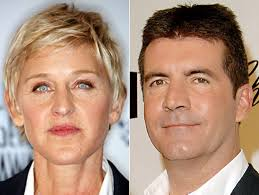 Ellen DeGeneres clashes with 'prima donna' Simon Cowell after he's ...