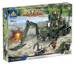 <b>Конструктор Kazi</b> Полевая армия 84040 <b>Инженерные войска</b> ...