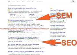 lance website manager mike benny should you put money into seo or sem