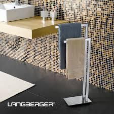 Стойка для <b>полотенец</b> Langberger 70381 напольная, хром ...