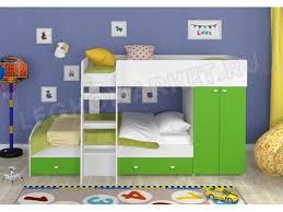 Купить <b>двухъярусную кровать Golden</b> Kids 2 в Москве