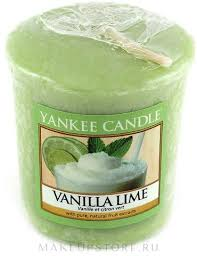 <b>Ароматическая свеча</b> - Yankee Candle <b>Vanilla</b> Lime:купить с ...