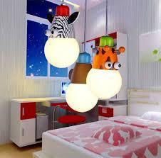 novelty lovely girlboy cartoon animal children bedroom bulb pendant indoor lighting lamps for living children bedroom lighting