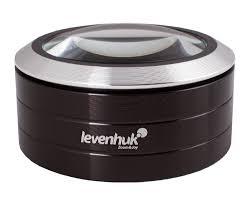 <b>Лупа Levenhuk Zeno 900</b>, 5x, 75 мм, 3 LED, металл купить в ...