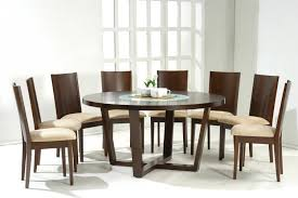 astonishing home round marble dining table furniture designs room minimalist elegant traditional decoration come brown lacquer affordable lighting set