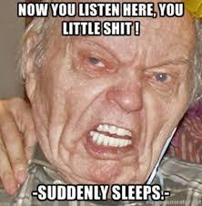 Grumpy Grandpa | Know Your Meme via Relatably.com