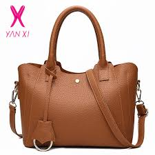 <b>YANXI</b> Luxury <b>Handbags Women Bag Designer</b> Fashion Litchi ...