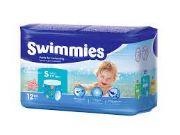 <b>Трусики для плавания Swimmies</b> Small, 7-13 кг, 12 шт. купить в ...