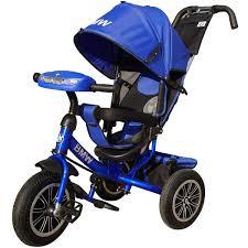детские 264577 <b>BMW Велосипед трехколесный</b> с управляющей ...