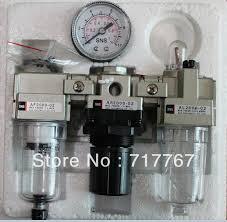 1/4'' AC2000-02 3 in 1 Filter Regulator Lubricator SNS PNEMATIC ...