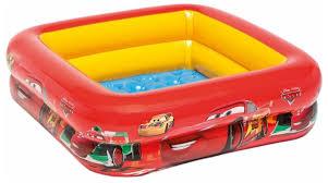 Детский <b>бассейн Intex Cars</b> Play Box 57101 — купить по выгодной ...