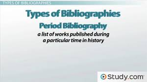 what is a bibliography and when should i write one video what is a bibliography and when should i write one video lesson transcript study com