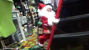 Mr. Christmas Animated: Ladder Climbing Santa - YouTube