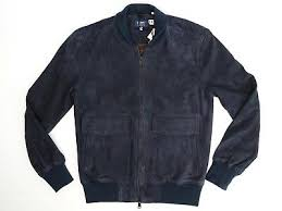 <b>Levis</b> Made & Crafted Mens Bomber Jacket 1 S Solid Navy Blue ...