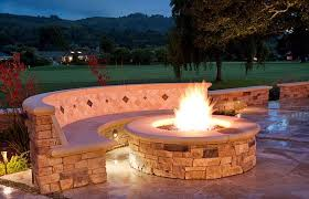 impressive diy outdoor fireplace near brick bench under marble flooring in large garden amusing cool diy patio