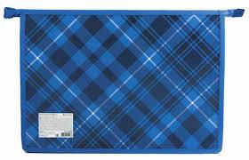 <b>Brauberg Папка</b> для тетрадей Оксфорд цвет синий