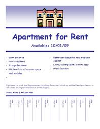 fulfilling your creative needs apartment rental flyer template apartment condominium flyer ad template design