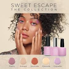 <b>CND</b>™ Sweet Escape Collection – <b>Shellac</b>™, Luxe & Vinylux ...