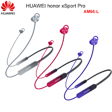 Original <b>HUAWEI honor xSport Pro</b> Bluetooth Headset AM66 L Sport ...