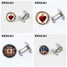 <b>2019 XKXLHJ New</b> Fashion Glass Cufflinks For T Shirt Art All Saints ...