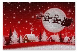 <b>Пазл 73.5</b>×<b>48.8 см</b> (1000 элементов) Дед мороз #3010727 от ...