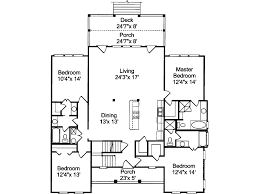 Dresden Raised Beach Home Plan D    House Plans and MoreVacation House Plan First Floor   D    House Plans and More