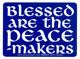 Image result for Blessed are the peacemakers