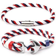<b>CUTEECO 2019</b> Hot Stainless Steel Anchor Bracelets Men Nautical ...