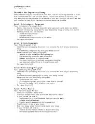 how to write a good expository essay example what is an expository essay examples
