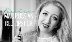 REVIEW: <b>MAC RUSSIAN RED</b> LIPSTICK - Lily Like