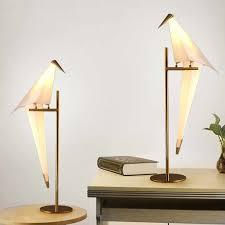 Modern <b>Nordic</b> four Tripod Glass <b>Table Lamps LED Desk Lamps</b> ...