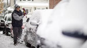 1st major snowstorm of season wallops Northeast, prompts state of ...