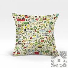 Купить <b>декоративные подушки</b> в детскую бежевые в Москве ...
