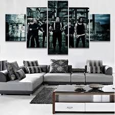 <b>5</b> Piece <b>HD Print Large</b> Rammstein Band Poster Cuadros ...