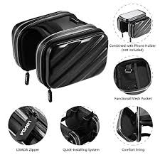 <b>1Pc Bike Bicycle Front</b> Frame Bag Pack Double Pouch Rainproof ...